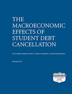 The Macroeconomic Effects of Student Debt Cancellation