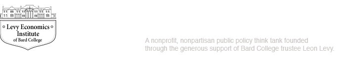 Levy Economics Institute of Bard College, a nonprofit, nonpartisan, public policy think tank founded through the generous support of Bard College trustee Leon Levy